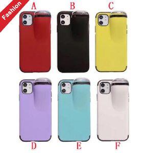 С набором наушников ящик для хранения мягкий чехол для IPhone 11 PRO MAX X XS XR 8 7 PLUS 6 6S I6 PC TPU крышка защитный телефон конфеты кожа роскошь 1 шт.