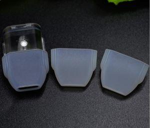 Yassı Damla İpucu Kapak Toz Kapağı İçin TH205 G5 vape kartuş Koruyucu Kapak Cap ile cartrdige için tek kullanımlık Silikon Kapak