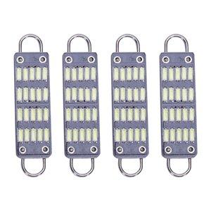 Bulb 44Mm Bright White Festoon Led Bulb,20 Smd Rigid Loop 1.73 Inch Interior e Map Led Lights 561 562 567 564,Pack Of 4