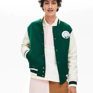 Designer de Brasão Carta Bordados Moda Varsity Jackets Moda Único Breasted Oversize Coats Casais Mulheres Homens Jackets HFKYJK018