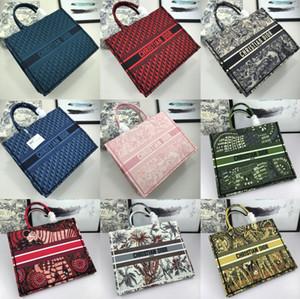 M1286ZWAO M929; 25 padrão de design de moda mulheres bolsa saco de ombro Individual Clássico bolsos bolsa Totes sacos de compras bolsa bordada