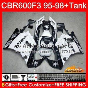 Body réservoir 96 HONDA CBR600FS 97 1998 CBR600 1995 Repsol Blanc 41NO.99 CBR FS CBR600F3 600F3 1996 1997 98 600 F3 95 Pour CBR CBR600CC Foire Tqku