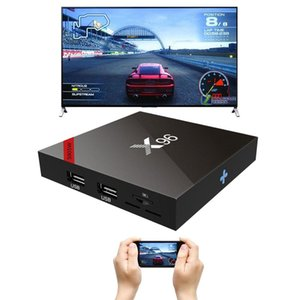 X96_S905W 4K HD Smart TV BOX Player with Remote Controller, Android 7.1.2 Amlogic S905W Quad Core ARM Cortex A53 @2GHz, 2GB+16GB, Support Wi