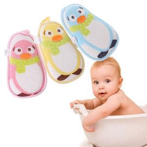 Nouveau-né Produits Baby Douche Touche Sponge Frotter Enfant Toddler Enfants Brosses de bain En Coton Freubing Body Sans serviette Accessoires