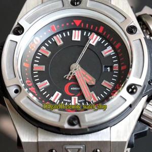 La versión superior 48mm 731 Red Dial mecánico automático de 1400 11 55 del reloj para hombre de titanio Caja de goma de la correa de relojes deportivos tienda de relojes de la eternidad 1140