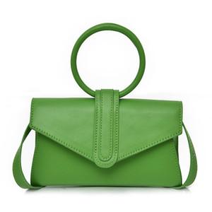 Designer-Rosa Sugao Designer-Einkaufstasche Frauen BRW Handtaschen Süßigkeit Farbenring Handtasche Schultertasche heiße Verkäufe Umhängetasche PU-Leder 6 Farben
