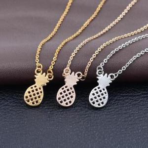 3 цвета дизайнер ананас кулон ожерелья мода горячие супер популярные воротник Ожерелье для женщин заявление ожерелья колье ювелирные изделия
