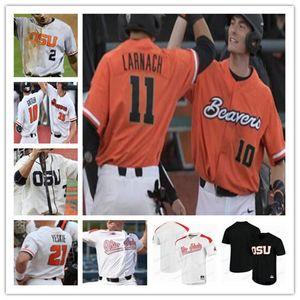 Oregon State Beavers OSU Baseball Stitched 2018 CWS Jersey 3 Nick Madrigal 12 Sam Tweedt 14 Elliot Willy 15 Luke Heimlich Troy Claunch
