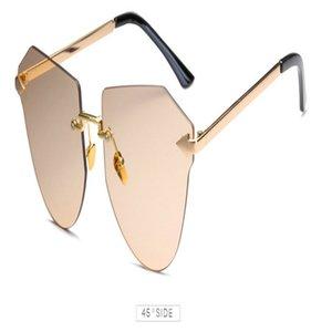 Arrow Frameless gold Sunglasses NICHOLAS Retro Round Metal Punk Sunglasses Women Men Arrow Rimless Arrow Frameless wn74U KPOVc
