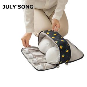 JULY'S SONG Polyester Wasserdichte Unterwäsche Kleidung Aufbewahrungstasche Große Kapazität Reisetasche Multifunktionale Reisetasche