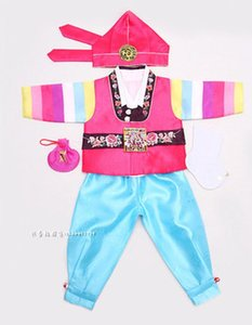 New Korean Hanbok Baby Boy 1 Year Old Birthday Party Hanbok Dolbok Korean Traditional Costume