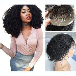 Silicone Full Lace Wig 1B Indian Curly Virgin Hair Hot Sale Full Thin Skin Wig for Black Women Free Shipping