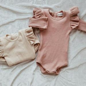 Recém-nascido Criança Bebê Menina Menino Romper Macacão Bodysuit Outfits Sweater Clothes