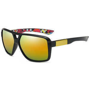 Hot nova óculos de sol para homens e mulheres Esportes Ciclismo Sunglasses Moda Dazzle Cor Espelhos Óculos de bicicleta Fast FREE