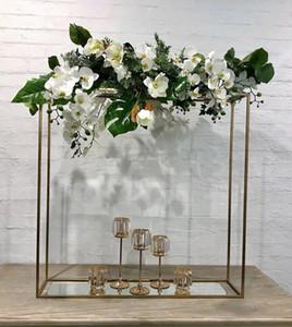 Hot casamento de venda de flores arco arcos de metal redonda para parede da flor estande pilar cenário passarela para senyu0420 estágio casamento