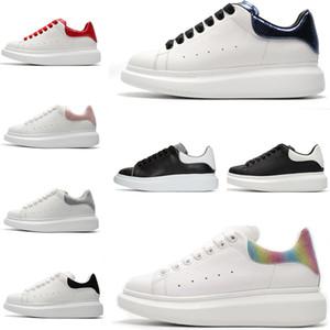 De alta qualidade Homens Mulheres Platform Lazer Shoes Designer Sneakers Luxo Moda couro genuíno amantes vestido ocasional sapatos de grife Shoes