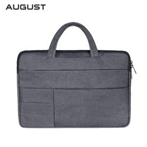 Homens de Negócios Briefcase Mulheres Escritório sacola Computer Business Trip arquivo de pacote Laptop Bag Multifuncional Mensageiro