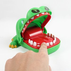 WJ1052X3 ألعاب مضحكة لدغة ناحية القرش عضة الاصبع لعبة التماسيح الصغيرة لعبة حيوان جديد مزحة غريبة الأم والطفل لعبة wholelsale