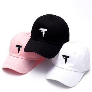 VORON Uzi Gun Baseball Cap US Fashion 2019 Snapback Hip hop Cap Men HEYBIG Curve visor 6 panel dad Hat casquette de marque