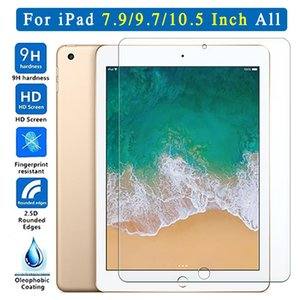 Protective Glass For Apple iPad 9.7 2018 2017 10.5 5th 6th Pro Screen Protector Tempered Air 1 2 Mini 3 4 On 5 6 Generation TH tina