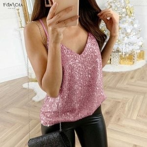 Plus Size Summer Fashion Strappy Blouse Casual Ladies Sexy V Neck Clubwear Cami Tank Vest Tee Tops Female Womens Blusas