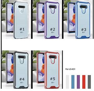 Mais novo estilo de Absorção caso de telefone celular Crystal Clear para LG Stylo 6 K51 Aristo 5 Plus K31 Harmony 4 Samsung A10 A30 A40 A31 M31 A10S A20S