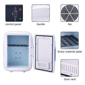 Car Electric Refrigerator 4L Car Home Dual Use Mini Refrigeration Machine USB Freezer Cheap Price Safe Material Portable Fridge