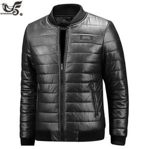 XIYOUNIAO nouveau cuir hiver hommes veste taille plus M ~ 7XL 8XL cuir PU Casual moto Hommes Vestes et manteaux