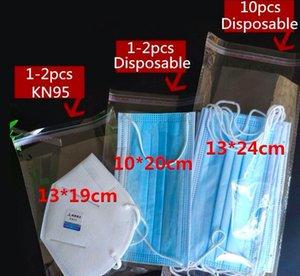 1000pcs / lot libero di OPP Adhensive Mask Gifts singola confezione sacchetto trasnparent Gioielli Anelli Dress intima dell'ufficio Accessori Sacchetti