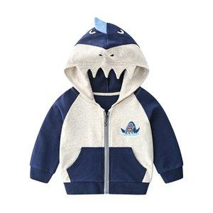 2020 spring autumn children jacket new boys cotton cartoon terry fashion coat Infants 2-7 year tops kids clothes