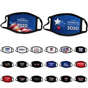DHL shipping Trump Mask Presidential Election Mouth Men Reusable Black Masks 2020 Donald Trump Print Protective Dustproof Face Mask L374FA