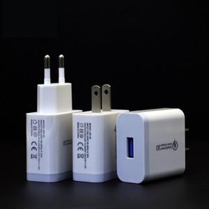 18W Chargeur USB Charge rapide 3.0 QC3.0 Téléphone mobile de charge rapide Chargeur pour iPhone Samsung Xiaomi QC 3 0