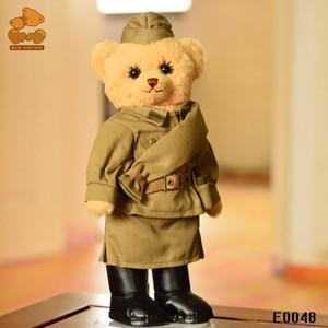30 cm Eklemler dönebilen ayı oyuncak, Rus askeri oyuncak ayı peluş oyuncak bebek, tatil hediye, Koleksiyon, Çocuk hediyeler