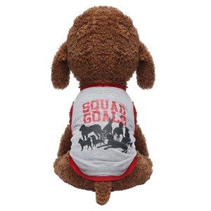 Vêtements pour chien d'été Harnais T-shirt mode texte Motif animaux Gilet d'été respirant Vêtements Cat Dog confortable Perro Jacket