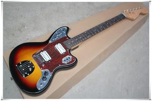 2 beyaz HH açık manyetikler Kırmızı bağa Pickguard elektrik gitar Gülağacı klavye ile, özelleştirilebilir