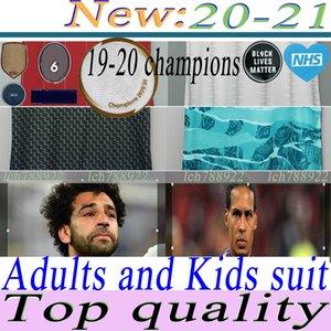 20 21 camisas de futebol LVP edição especial Gerrard Smicer Alonso Hamann BARNES Kuyt Cisse novos 2020 2021 Futebol shirt homens + crianças terno