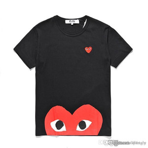 2018 COM Best Quality Men Women Negro CommeS des GARCONS manija total Camiseta Blanco Talla M pronta decisión F / S