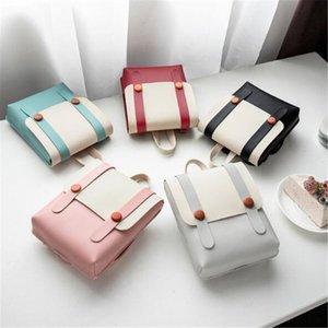 Téléphone portable sac à main femmes Patchwork épaule Case Ceinture Besaces solide intérieur fente de poche unique Fermeture à glissière sac à main