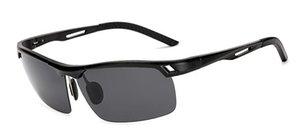 New aluminum-magnesium polarized sunglasses outdoor casual men's sunglasses riding fishing mirror driving driving glasses