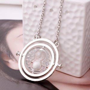 Vente chaude Collier Hourglass Vintage Pendentif Hermione Granger or Collier en argent pour les femmes Lady fille en gros