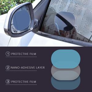 60PCS Anti Fog Car Rearview Mirror Film Car Rearview Mirror Protective Anti Fog Car Mirror Window Clear Film Film Waterproof Cars Sticker