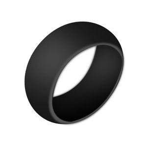 Vendita calda Anelli di nozze in silicone da donna Anelli di O-ring anallergico Confortevole paio di anelli di peso leggero Anelli a forma rotonda da donna Gioielli di moda Gif
