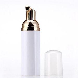 50ml de espuma frascos vazios garrafas de plástico foamer com bomba de ouro Wash Sabonete Mousse o distribuidor de creme Bubbling Garrafa IIA57N