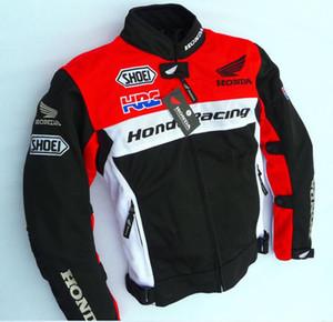 New Herbst und Winter Radfahren Anzug Motorradrennen Lokomotive bruchbeständige Kleidung Kleidung winddicht kalten Winter Honda rot scharen
