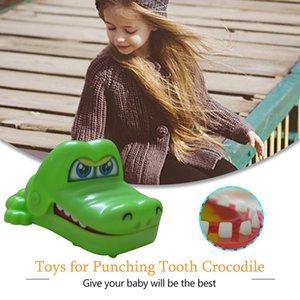 Yaratıcı Tüm Oyuncak Mini Küçük Timsah Diş Timsah Timsah Diş İnteraktif Klasik Oyuncak Bite Bite