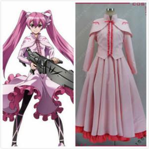 Akame ga matar! Cosplay meu vestido rosa personalizado: frete grátis