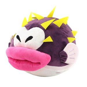24cm Super Mario Bros Puffer Fish Explosion Plush Toy Soft Kawaii Cute Stuffed Plushies Toys Dolls for Kids Children Gift
