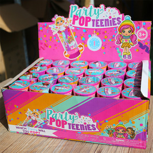 حزب POP Teenies حزب النثار دمية لعبة حزب التموين أطفال أفضل لعبة مضحكة 24 PACK بالجملة