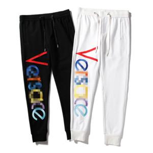 Marca Mens calças compridas de luxo Designer Jogger Track Pants Corpo Inteiro clássico do logotipo bordado com cordão Pant Esporte suor Pant M-2XL B101007L