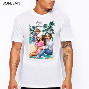 Super Dad T shirt men Father's Love Print T-shirt camisetas hombre Harajuku Shirt Vogue white tshirt men tumblr Tops tee